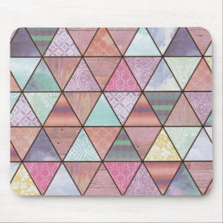 Triangle play mouse pad