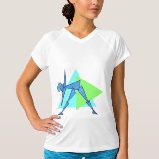 Triangle Pose - Yoga Workout Clothes for Women T-Shirt