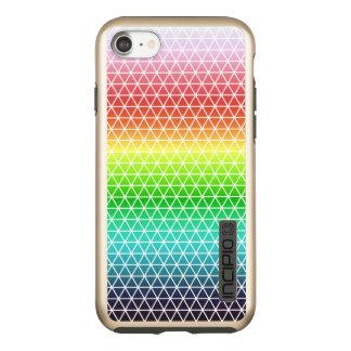 Triangle Rainbow Geometric Framework Tessellation Incipio DualPro Shine iPhone 8/7 Case