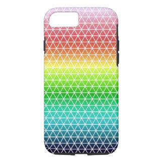 Triangle Rainbow Geometric Framework Tessellation iPhone 7 Case
