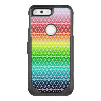 Triangle Rainbow Geometric Framework Tessellation OtterBox Commuter Google Pixel Case