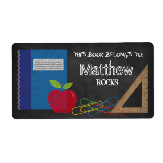 Triangle Set Square Book Apple Paper Clips