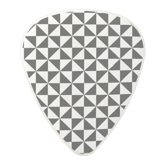Triangle Shape pattern Polycarbonate Guitar Pick