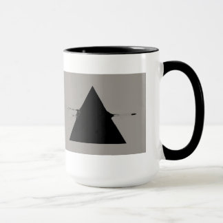 triangle shot mug