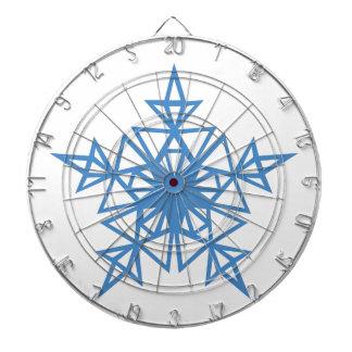 Triangle Snowflake Dartboard
