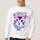 Triangle Space Kitten Sweatshirt