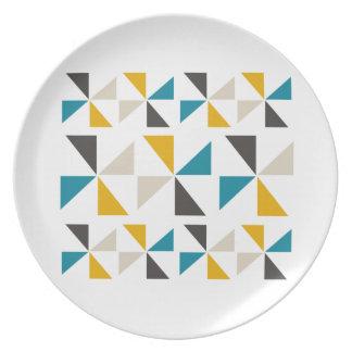 Triangle Square Plate