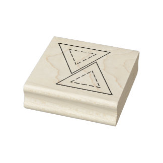 Triangle Stamp for Quilting; 3/4 inch sides