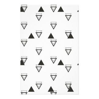 triangle stationery