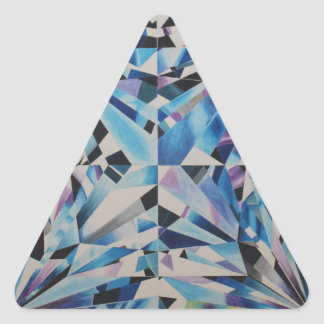 Triangle Stickers, Glossy, Small, 1½ inch Triangle Sticker