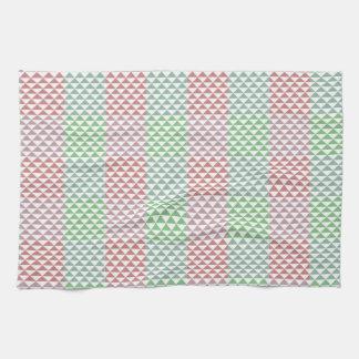 triangle tea towel