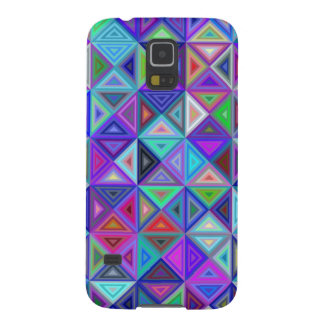 Triangle tile mosaic galaxy s5 cases