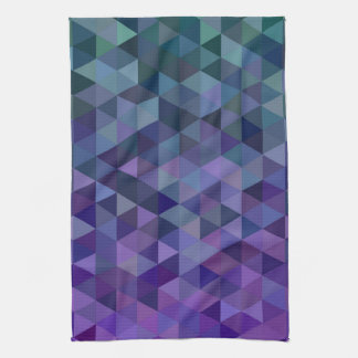 Triangle tiles kitchen towel