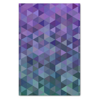 Triangle tiles tissue paper