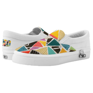 Triangle Treat Mosaic Kicks slipons Slip-On Sneakers