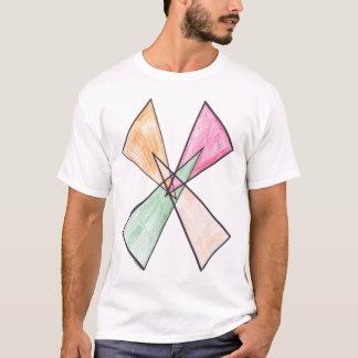 Triangle-X Motif T-shirt