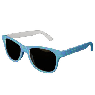 Triangles - Blue Sunglasses