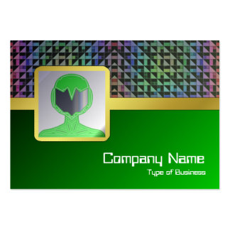 Triangles Large Business Cards (Pack Of 100)