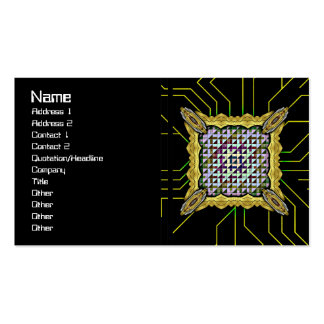 Triangles Pack Of Standard Business Cards