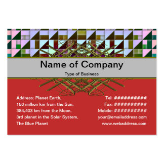 Triangles Business Card