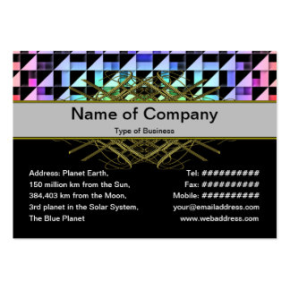 Triangles Business Card Template