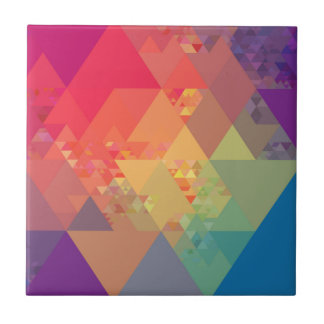 Triangles Color Tile
