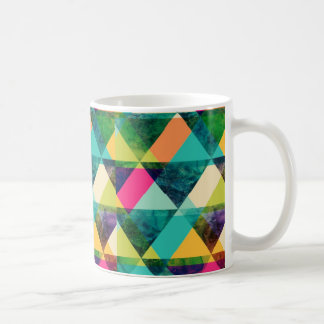 Triangles Colorful Coffee Mug
