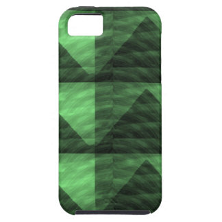 Triangles Deco LOWPRICES de PYRAMIDE de vert VERT iPhone 5 Case