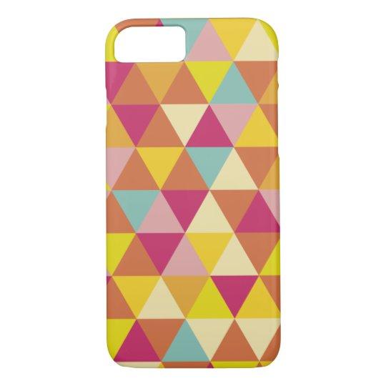 Triangles Geometric Colourful iPhone 8/7 Case