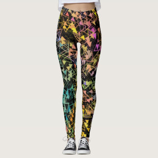 Triangles in Motion Leggings