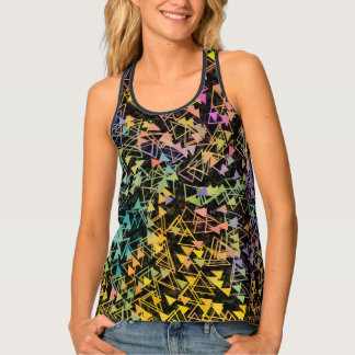 Triangles in Motion Tank Top