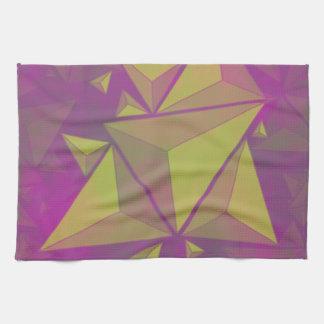 triangles kitchen towel
