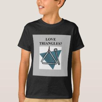 TRIANGLES music joke Tshirt