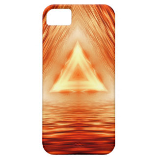 Triangles of fire iPhone 5 case