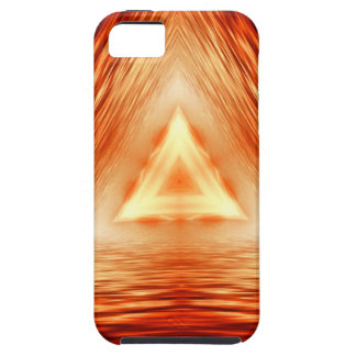Triangles of fire iPhone 5 cover