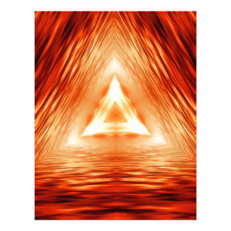 Triangles of fire letterhead