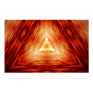 Triangles of fire postcard