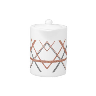Triangles Rose Gold Silver