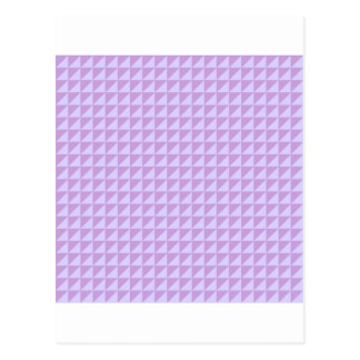 Triangles - Wisteria and Pale Lavender Post Card