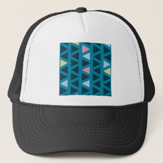 Triangles With Blue and Pink Love Trucker Hat
