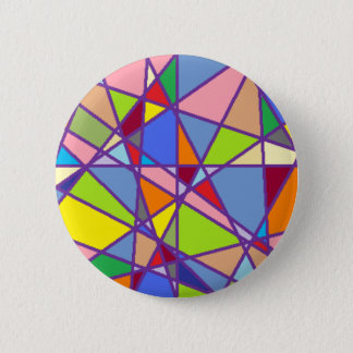 Triangluars 2 Inch Round Button