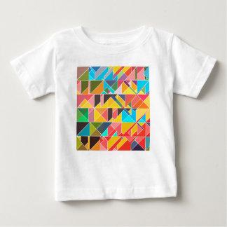Triangular Abstract Design Baby T-Shirt