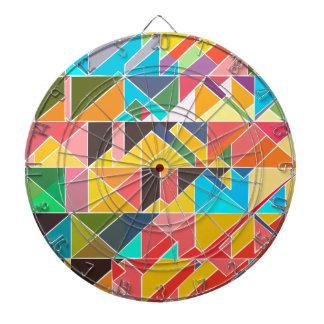 Triangular Abstract Design Dartboard
