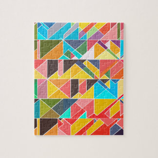 Triangular Abstract Design Jigsaw Puzzle