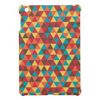 Triangular colorful iPad mini cover