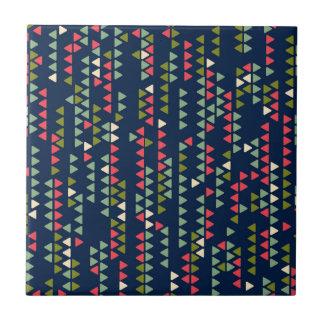 Triangular pattern tile