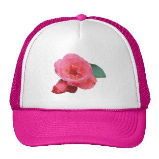 Triangular Rose Trucker Hat