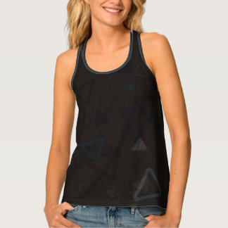 Triangular Shadows Tank Top