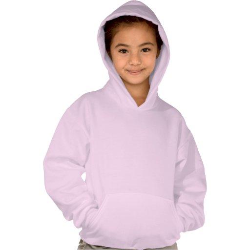 Triangular Waves : Girls' Hanes ComfortBlend® Hood T-shirt