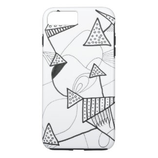 'Triangulatz' by Martin Proll iPhone 8 Plus/7 Plus Case